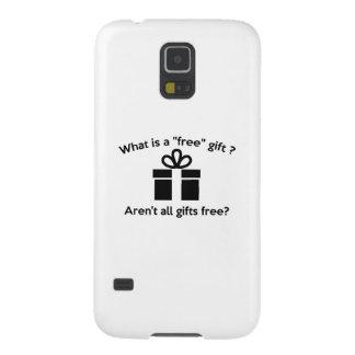 ¿Cuál es un regalo libre? Carcasa Galaxy S5