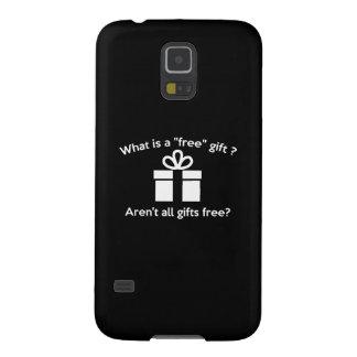 ¿Cuál es un regalo libre? Funda Galaxy S5