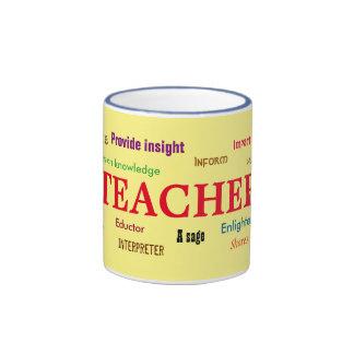¿Cuál es una taza del profesor?