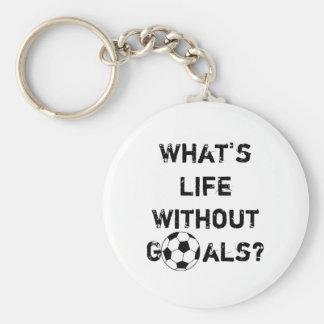 ¿Cuál es vida sin metas? Llaveros Personalizados