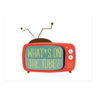 ¿Cuál está en el tubo? Postales