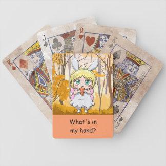 ¿Cuál está en mi mano? Paquete de tarjetas Cartas De Juego