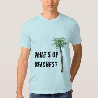 ¿Cuál está encima de las playas? Remeras