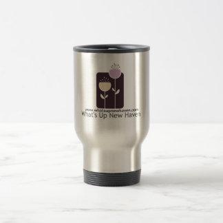 Cuál está encima de taza de café del acero