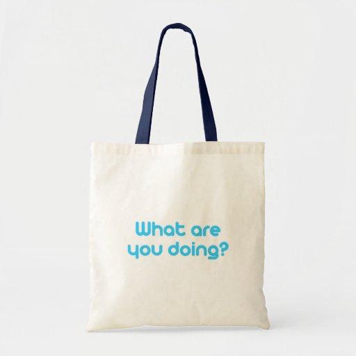 Cuáles son usted que hace bolsa tela barata