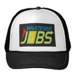Cualesquiera trabajos gorras