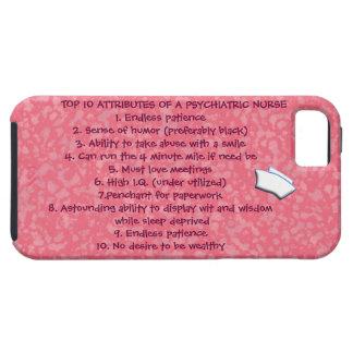 Cualidades del top 10 de un Enfermera-Humor iPhone 5 Protector