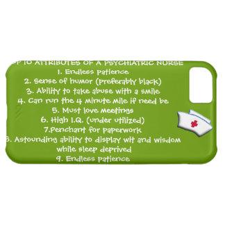 Cualidades del top 10 de un Enfermera-Humor psiqui