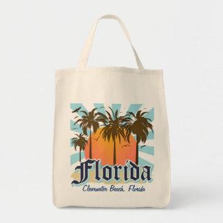 (Cualquie ciudad) la Florida el estado del sol Bolsa Tela Para La Compra
