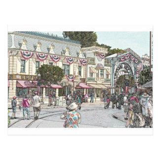 Cualquie ciudad, los E.E.U.U. Tarjetas Postales
