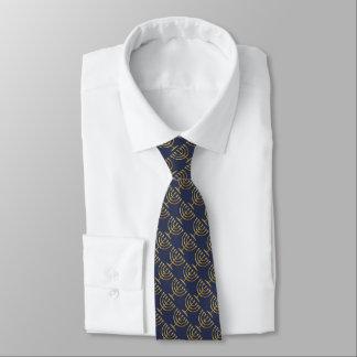 Cualquie color con el modelo de Menorah del oro Corbatas Personalizadas