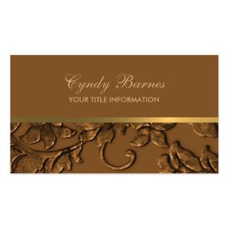 Cualquie color con la tarjeta de visita de cobre