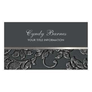 Cualquie color con la tarjeta de visita gris del