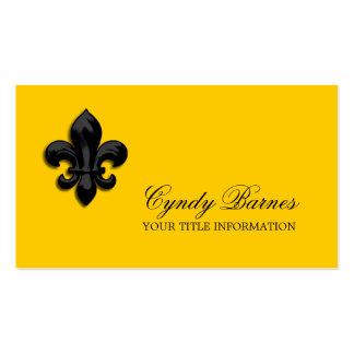 Cualquie color con la tarjeta de visita negra de