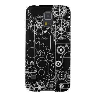 [Cualquie color] el punk mecánico del vapor adapta Fundas Para Galaxy S5
