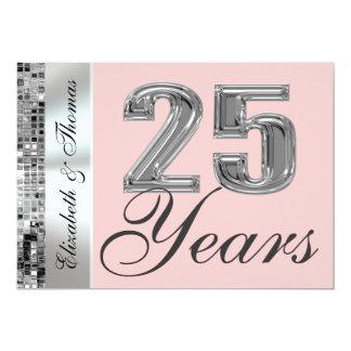 Cualquie color y 25 años de invitación de plata