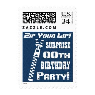 ¡Cualquie cremallera divertida del cumpleaños de Envio
