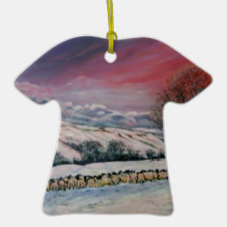 Cualquie Dale en Yorkshire Adorno De Cerámica En Forma De Camiseta