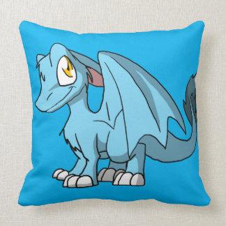 Cualquie dragón peludo 1 del SD del color en Almohadas