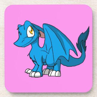 Cualquie dragón peludo del SD del color con el Posavaso
