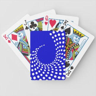Cualquie fondo del color con el diseño blanco del  baraja de cartas