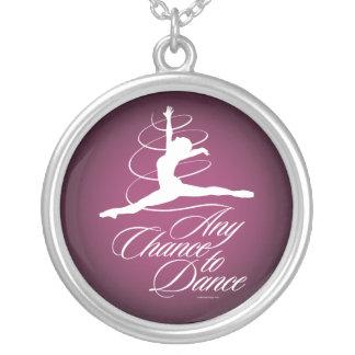 Cualquie ocasión de bailar pendiente personalizado