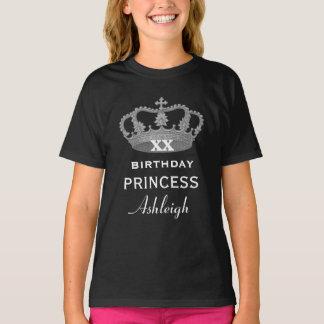 Cualquie PRINCESA del cumpleaños del año con la Playera