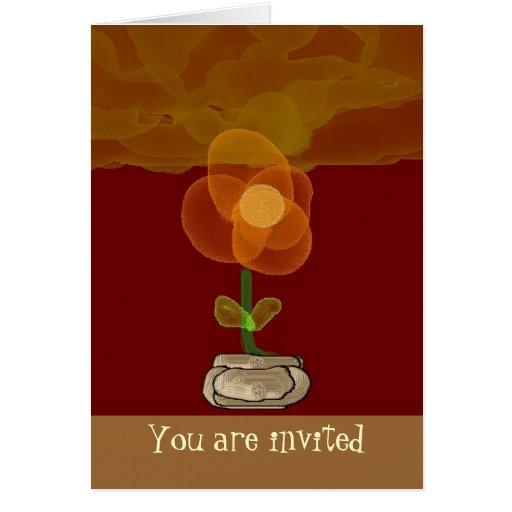 Cualquie tarjeta de felicitación de la ocasión