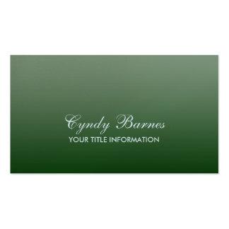 Cualquie tarjeta de visita de la pendiente del