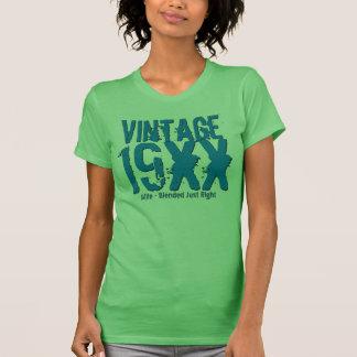 Cualquie vintage de encargo V32 del regalo de Camisetas