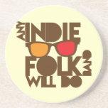Cualquier banda popular del indie hará música del  posavaso para bebida