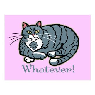 Cualquier gato postales