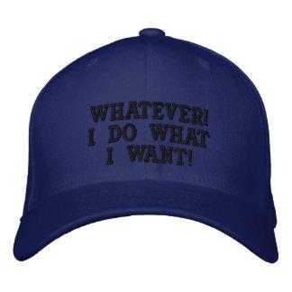 Cualquier gorra gorra de béisbol