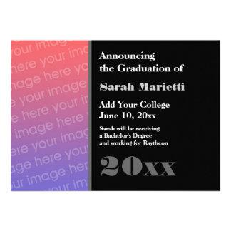 Cualquier graduación del año añade su propio negro comunicado personalizado