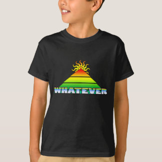 Cualquier horizonte de la pirámide retro playera