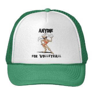Cualquier persona para las mujeres del voleibol gorro