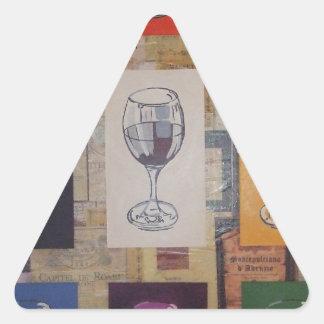 cualquier persona para un vidrio colcomanias de trianguladas
