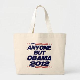 Cualquier persona pero Obama 2012 Bolsa De Mano