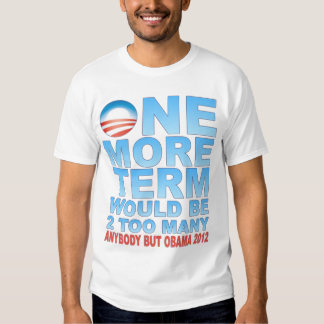 Cualquier persona pero Obama 2012 Poleras