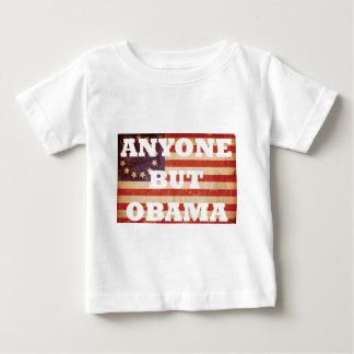 Cualquier persona pero Obama Remera