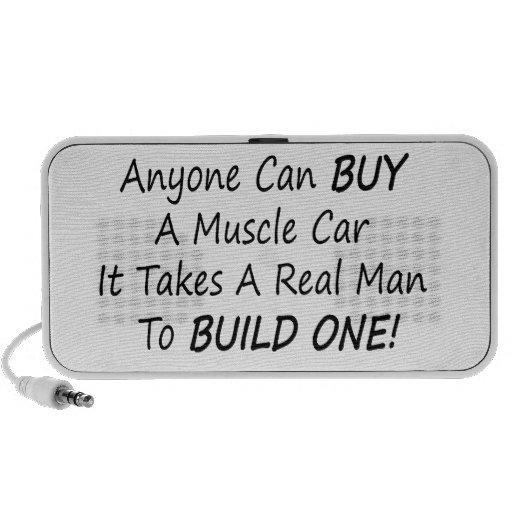 Cualquier persona puede comprar un coche del múscu altavoz