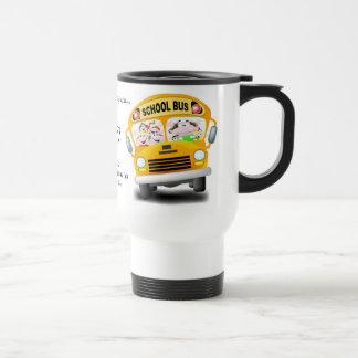 Cualquier persona puede conducir un coche tazas de café