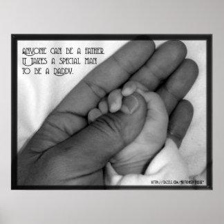 Cualquier persona puede ser un padre póster