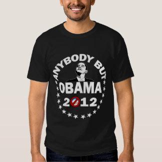 Cualquiera pero Obama - 2012 Camisas
