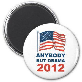 Cualquiera pero Obama 2012 Imán Redondo 5 Cm