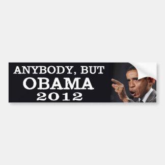 Cualquiera, pero Obama 2012 Pegatina Para Auto