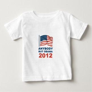 Cualquiera pero Obama 2012 Polera