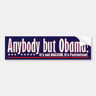 Cualquiera pero Obama Pegatina Para Auto