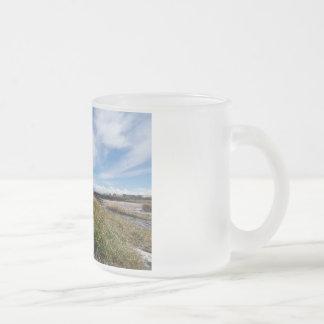 Cuan, Ireland Frosted Glass Coffee Mug