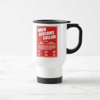 Cuando chocan GEDCOMS Tazas De Café